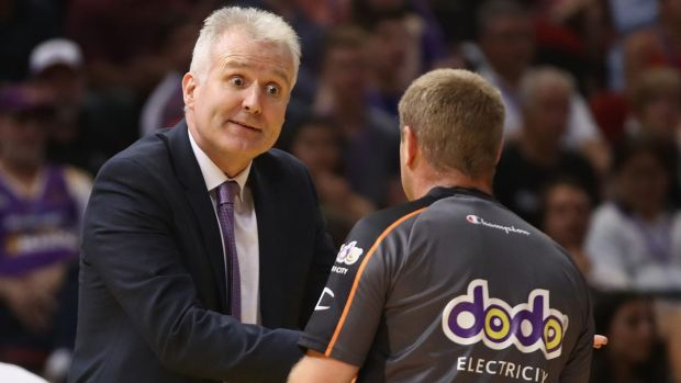"Article image for Gaze denies the Sydney Kings are in a ""crisis"""