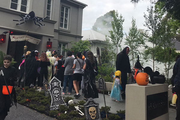Article image for The Melbourne street where Halloween is taken VERY seriously