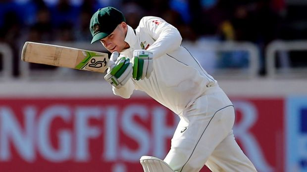 Article image for Peter Handscomb ready to roll!
