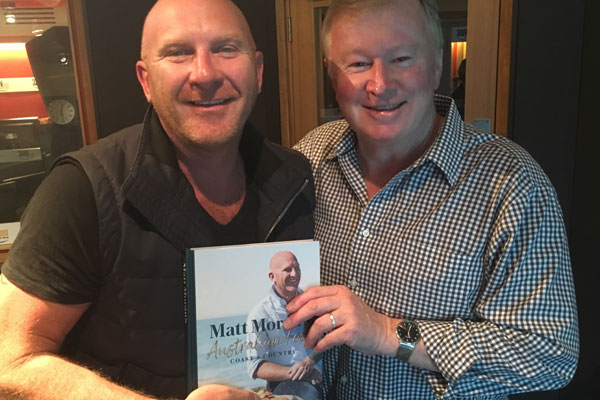Article image for Matt Moran chats to Denis about what defines Australian cuisine and his new cookbook