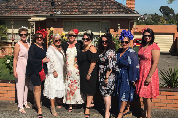 Article image for Neil's roving reporter at Oaks Day