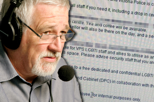 """Article image for LEAKED: Police offer """"supported space"""" for officers troubled by SSM poll"""