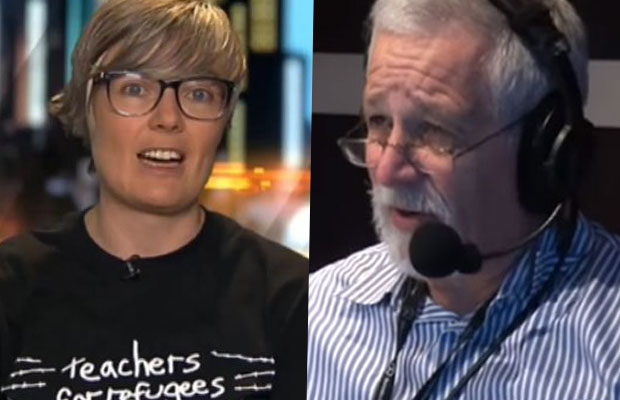 Article image for Neil Mitchell slams 'dangerous' protests, clashes with refugee advocate