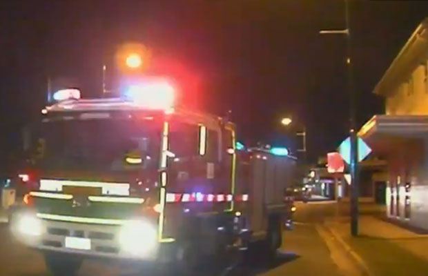 Article image for Pakenham pub fire raises police suspicion