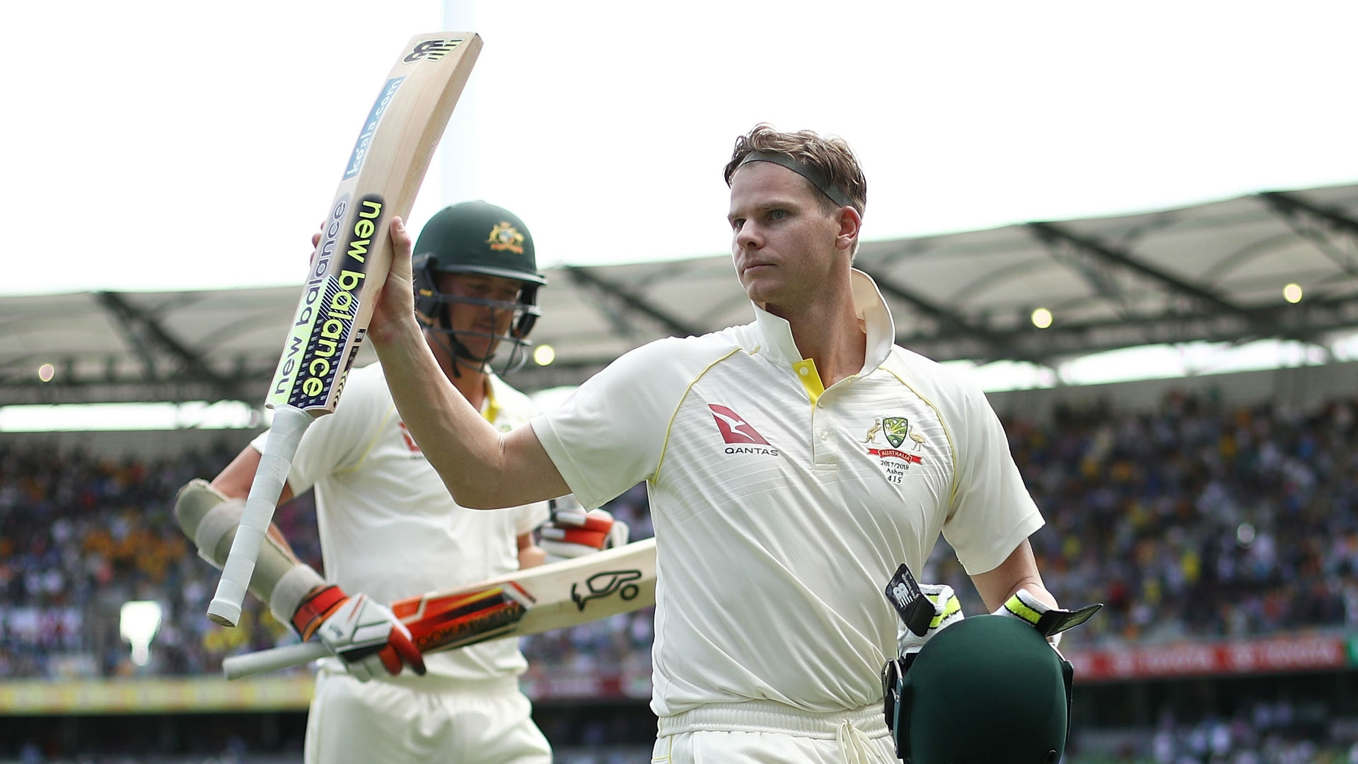 Article image for Smith rates Gabba century one of his best