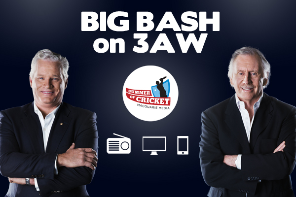 Article image for TONIGHT: Big Bash on 3AW – how to listen