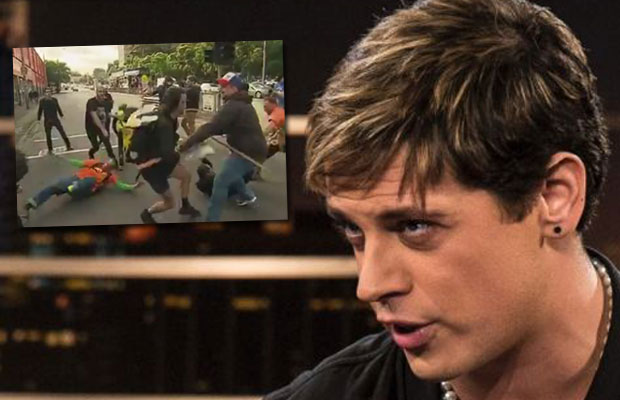 Article image for Milo Yiannopoulos his promoters will be sent a bill from Victoria Police for protests