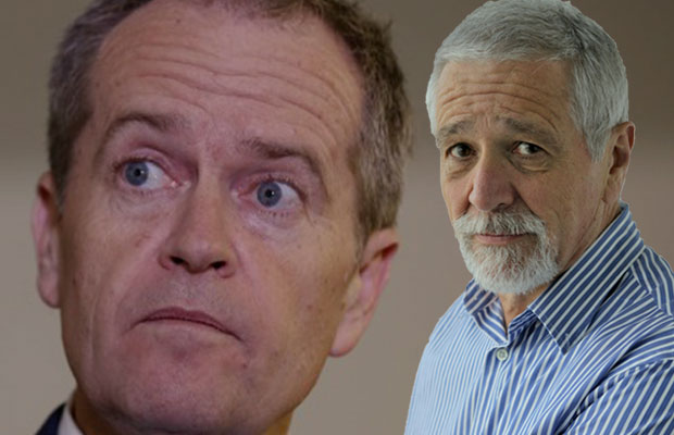 Article image for 'Self-righteous' Shorten now 'staggering and slipping' in PM race