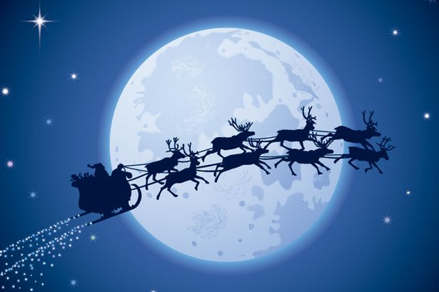 Not long until Santa comes to town!