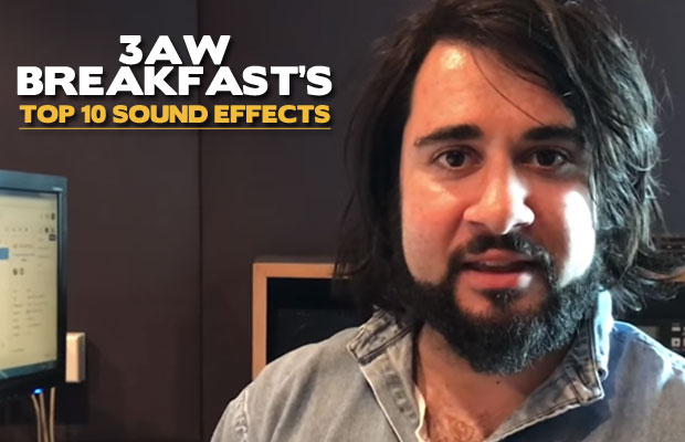 Article image for 3AW Breakfast's Top 10 Sound Effects for 2017