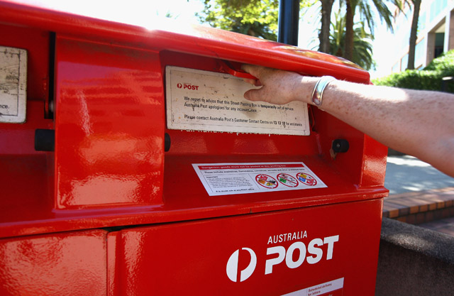 Article image for Australia Post sends package from QLD to VIC via WA