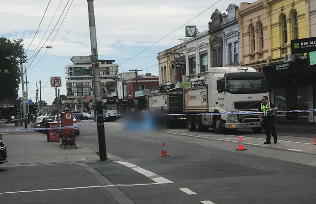 Article image for Woman killed crossing road in Elsternwick