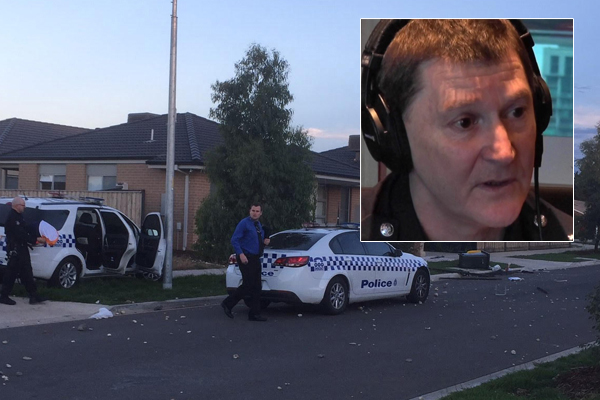 Article image for No arrests: Police chief defends Werribee riot response