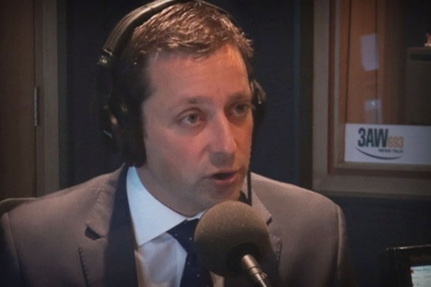 Article image for Matthew Guy says violent offenders won't be released play footy if he wins election