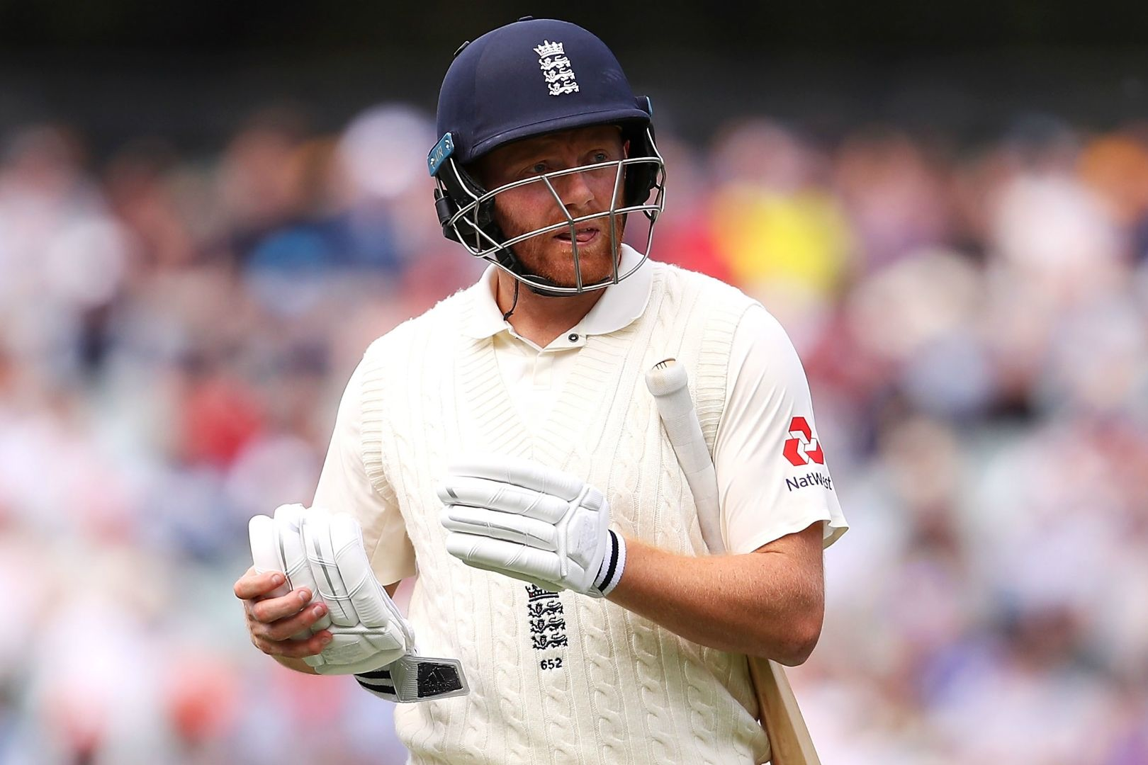 Article image for I was 'stitched up' by Aussies over headbutt incident – Bairstow