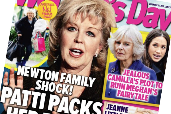 Article image for Patti Newton slams Woman's Day over 'candid shots' and 'stupid' Matthew story