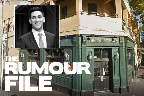 Article image for Auctioneer swallows fly mid multi-million dollar sale of Melbourne pub