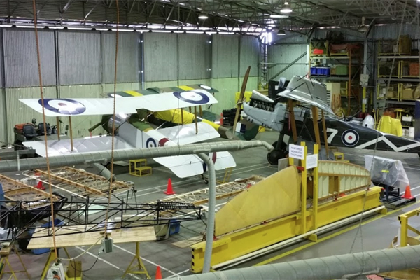 Article image for Plane that crashed 21 years ago sets off EPIRB in Point Cook RAAF museum