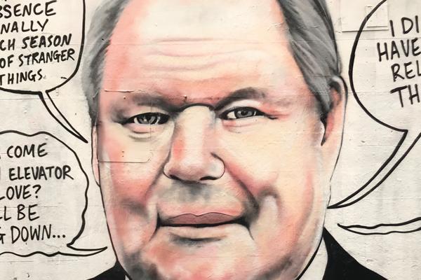 Article image for Rumour confirmed: Doyle street art arrives in Hosier Lane