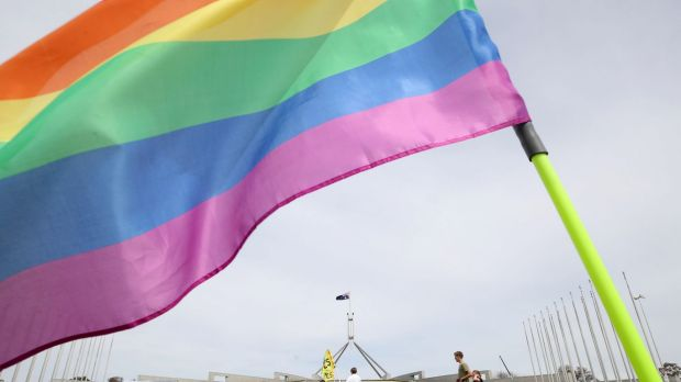 Article image for Same-sex marriage now legal in Australia