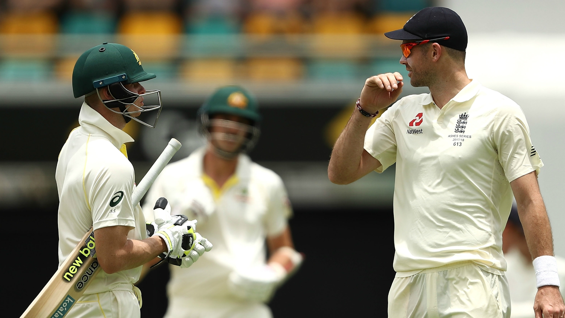 Article image for He's one the biggest sledgers in cricket – Smith hits back at Anderson