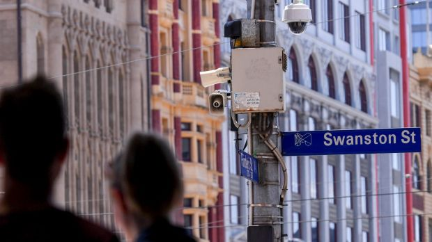 Article image for Terror warning system tested in CBD