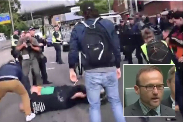 Article image for Neil Mitchell: Adam Bandt's predictable swipe at police