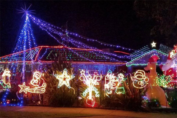 Article image for There's something VERY controversial about these Melbourne Christmas lights