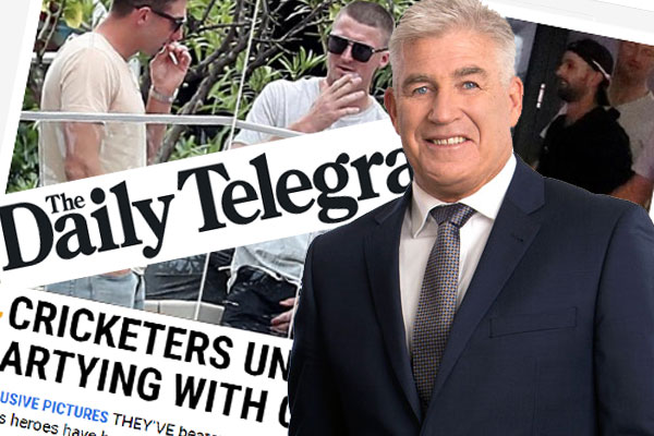Article image for Gerard Healy's message for those 'outraged' by smoking cricketers