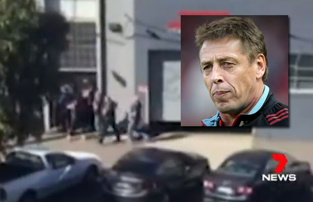 Article image for Mark 'Bomber' Thompson's house raided by police