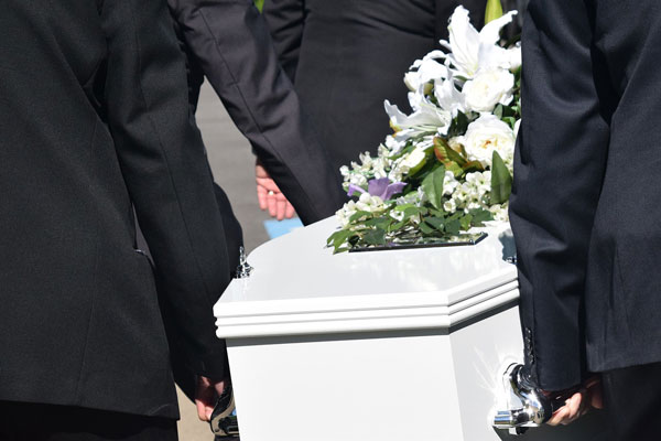 Article image for Funeral celebrant: 30-40% of families request money not flowers