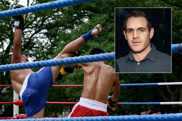 Article image for Kickboxing champion makes citizen's arrest after tracking down alleged thief