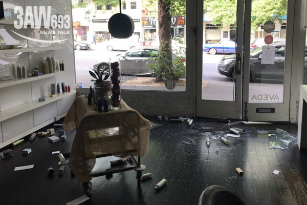 Article image for $10k worth of hair products stolen in South Melbourne robbery