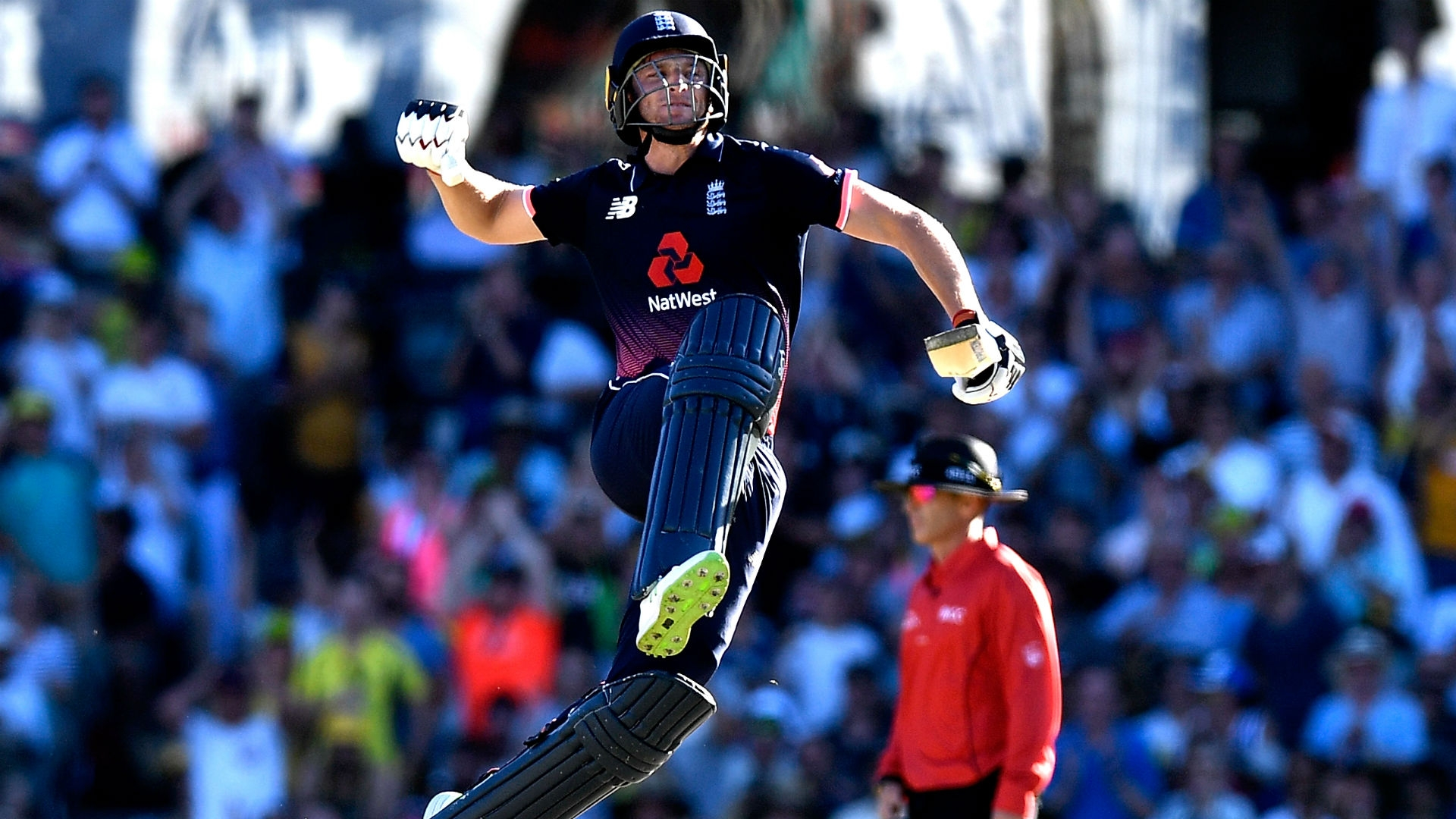 Article image for Straight sets: Buttler ton sweeps England to 3-0 series win