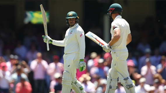 Article image for Ashes Round-Up: Khawaja and Marsh make England toil