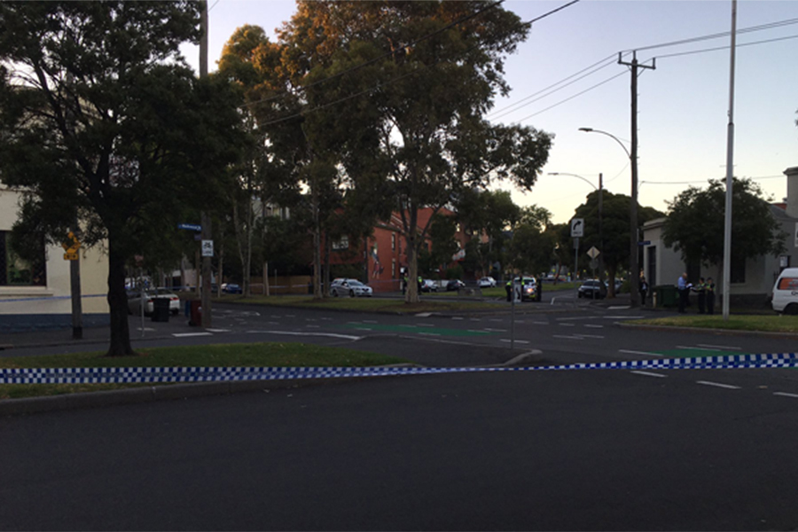 Article image for Stabbed to death: Body found outside North Melbourne flats
