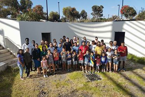 Article image for Tarneit locals band together to clean up trashed community centre