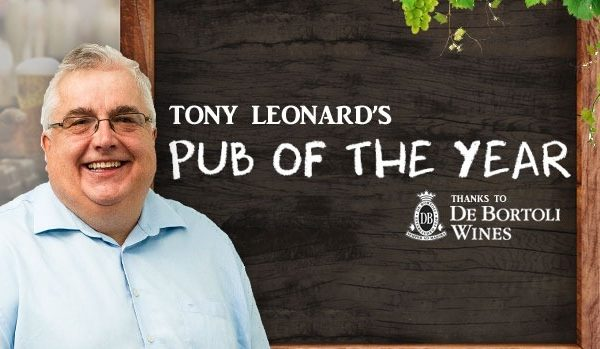 Tony Leonard's Pub of the Year for 2018