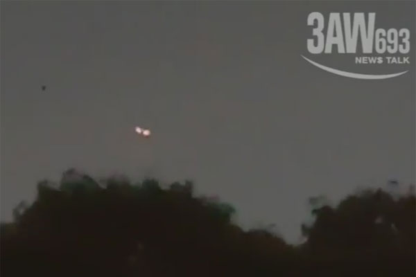 Article image for Unknown object captured on camera hovering above houses in Melbourne's south-east