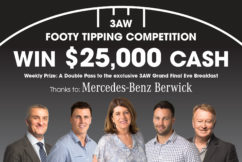 The 2018 3AW Footy Tipping competition