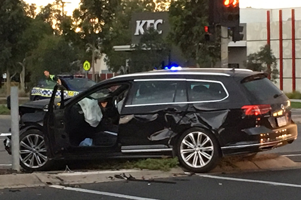Article image for Cops injured in Point Cook smash and run