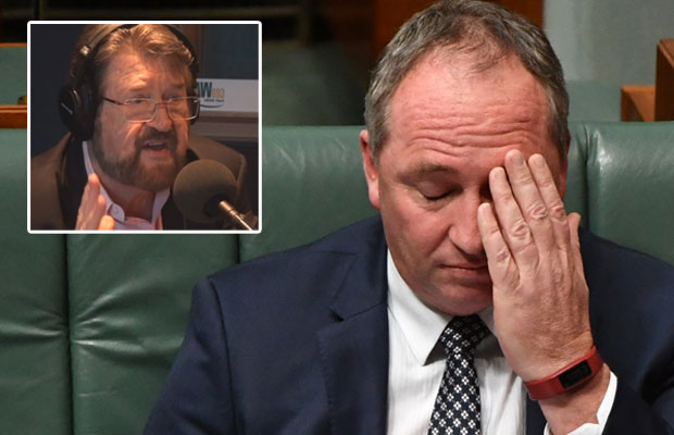 Article image for Derryn Hinch: Why Barnaby 'has to go'