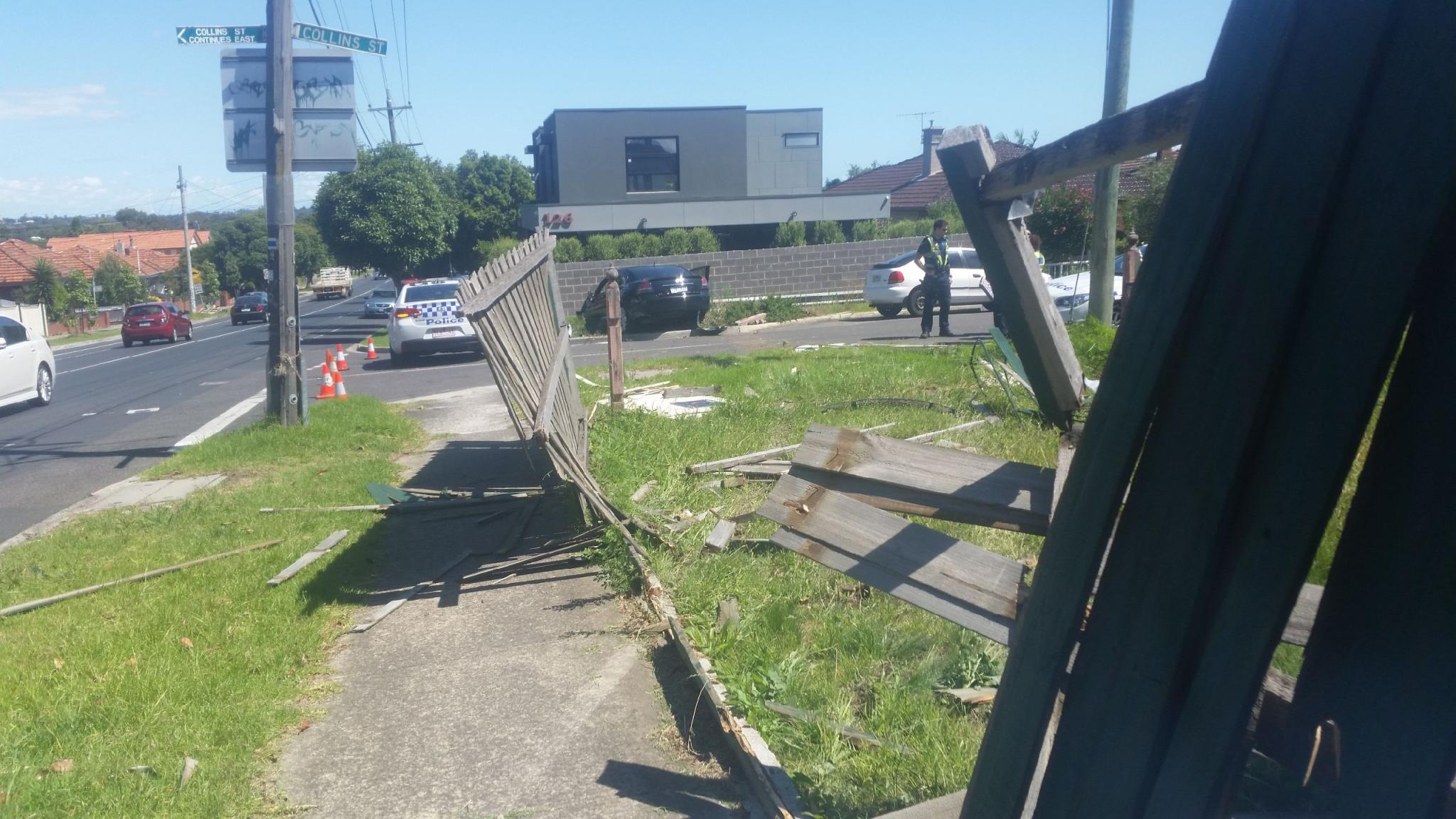 Article image for Word on the Street: Car runs through fences and into a house in Thornbury