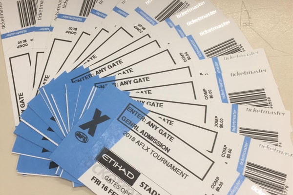 Article image for WOTS: AFLX tickets flogged off ahead of debut on Thursday night