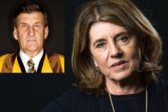 War of words erupts between Caroline Wilson and Jeff Kennett