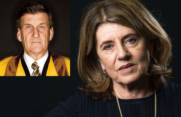 Article image for War of words erupts between Caroline Wilson and Jeff Kennett