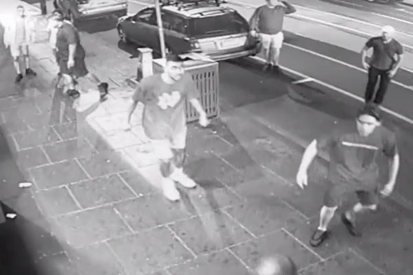 Article image for Wild Chapel Street brawl involving up to 20 people leaves three in hospital