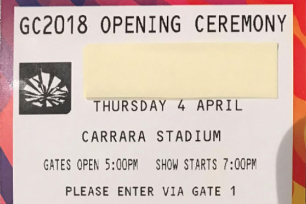 Article image for Commonwealth Games ticketing blunder
