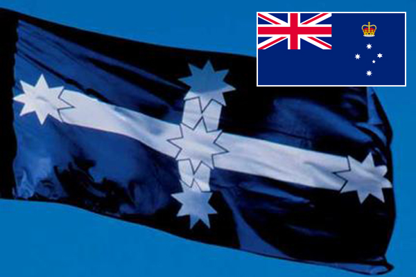 Article image for Greens Councillor calls for official state flag to be replaced with Eureka flag