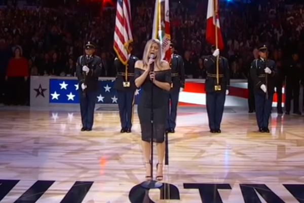 Article image for Watch it: Fergie apologises after horrid rendition of US anthem